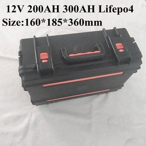 Lifepo4 16V 200Ah 300Ah Lithium Battery 5S BMS for Energy Storage Outdoor Power Supply Caravans Campers+20A Charger
