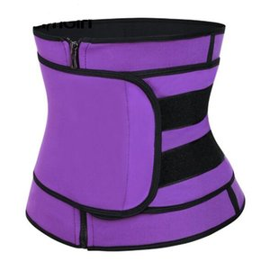 Adjustable Neoprene Waist Trimmer Belt Zipper Sauna Cincher Fitness Corset Body Shapers Slimming Abdominal Belt Wholesale
