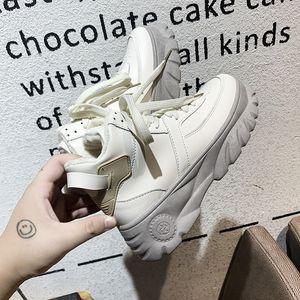 2020 Women Boots Winter Chunky Sneakers Luxury Designer Beige Black Women Shoes Lady Comfort Platform Trainers Basket Femme