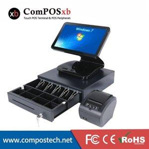 Satış sisteminin 15.6inch Kapasitif Dokunmatik Ekran All in One Kasalar Makinası pc Noktası
