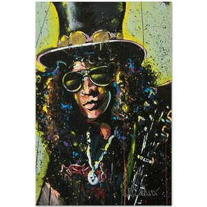 "David Garibaldi ""Slash (1)"" Home Decor Handpainted &HD Print Oil Painting On Canvas Wall Art Canvas Pictures 200923"