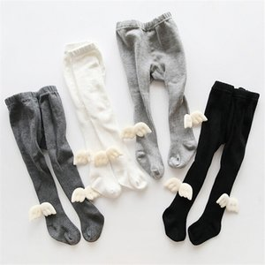 Toddler Baby Kids Soft Cotton Angel Wings Pantyhose Tights Hosiery Warm Stockings Children Girl Tights