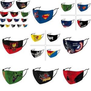 Deadpool Amerika Yüz Marvel Çocuk Kaptan Kalkanı Koruma facemasks Soğuk Kaptan Binme Tasarımcı Punisher sqcfg buy_home Maske Maske