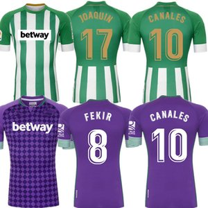 20 21 Real Betis Soccer Jersey 17 Joaquín 10 Canales Men Kids Camiseta de Fútbol Juanmi Fekir Barra Canales Loren Camiseta de Futebol 2021