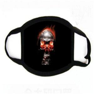 5 Stiller Dener Fa Anti-toz Pamuk Baskı Maskeler Windproof Fasion Stokta # 488 yılında Maske