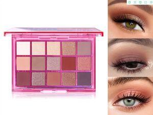 UCANBE 15 Colors Makeup Eyeshadow Palette Fruit Shimmer Matte Pigment Eye Shadow Palette Kit