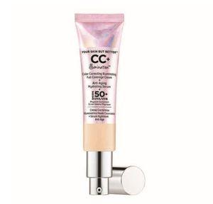 그것은 당신의 피부하지만 더 나은 CC 반짝이 얼굴 재단 Concealer Make Up Beauty Comestic Face Primer Brighten 크림