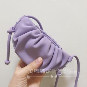 Mini Shoulder Bags For Women Small Clutches Cute Cloud Dumpling Bag Candy Color Ladies Crossbody Bag Female Handbag And Purse