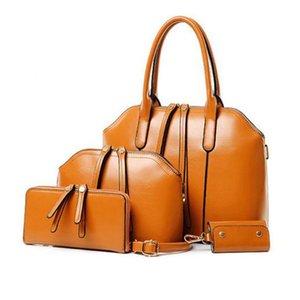 CHISPAULO Новая мода Женщины сумки Кожа PU Сумка Сумки женские Сумки Designs 4 шт / комплект женщин сумка