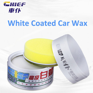 Auto Paint Finishing Carnauba Wax White Hard Paste Car Wax Automotive Coated Maintain Wax Auto Body Coating Care Product 280g