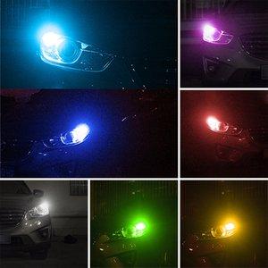 T10 водить автомобиль купол Reading Light Автомобили Клин лампа RGB светодиодных лампы автомобиль Side Wedge / номерной знак Лампа