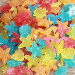 animales rDnyL marina modelado de jardinería luminosa de jardinería tanque de adoquines de piedra artificial luminosa peces