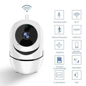 Mini Câmeras Sem Fio PTZ IP Camera Wi-Fi Vigilância de Segurança Home Com IR Night Vision Mover Detection Telefone Celular Operate