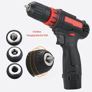12V Home Mini Power Driver Cordless Drill Rechargeable Electric Screwdriver Power tool drill