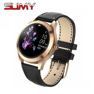 Slimy 2019 KW10 Sports Women Ladies Smart Watch Fitness Smart Bracelet Smartwatch Heart Rate Monitor for IOS Android Phone