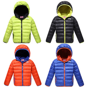 Boy Coat Spring fall Light Children's Winter Jackets Kids Cotton Down Coat Jacket For Girls Parka Outerwear Hoodies Designer