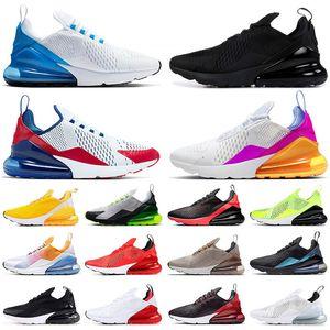 270 zapatillas deportivas triples Chaussures max mujeres blancas negras hombres Bred ser verdad CASE-270S ROSE hombre entrenadores del deporte al aire zapatillas de deporte