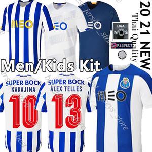 20 21 Porto fc retro Fußball-Trikot PEPE Aboubakar Fußball Jerseys NAKAJIMA ALEX TELLES 2020 Futebol Clube do Porto Kinder Männer Kit Uniform