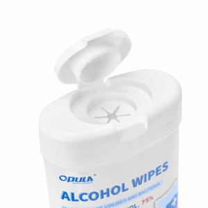 50PCS Barrel 75% Alcohol Wet Wipes Hand Skin Cleaning Care Sterilization Wipes Alcohol Disinfecting Free Shipping UPS DHL KCL-2030