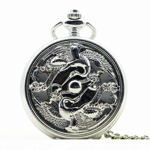 Exquisite Men Women Pocket Watch Design Mechanical Hand Winding Fob Watches Casual Pendant Gift