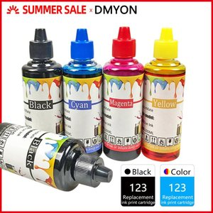 DMYON 123 Ink Refill Kit Compatible for 123 for 1110 2130 2132 2133 2134 2620 3630 3632 3637 3638 4513 4520 4521 4522 Printer