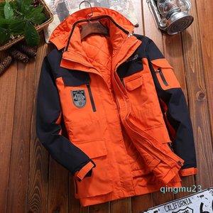 Mode-Vêtements extérieur Charge Homme Trois en un Femme Automne Hiver Twinset Lovers Windbreak Veste de ski alpinisme Gardez chaud Serve