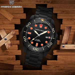 PAGANI DISEÑO 2020 simple Relojes de acero inoxidable de negocios reloj mecánico de moda de lujo de los hombres automáticos del reloj de la nueva Top