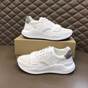 Burberry shoes top nouveau feuillet personnalisé d'été sur mocassin de conduite paresseux hommes occasionnels chaussures de plein air rd200905
