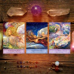 64pcs Playing Game Englisch Guidance Mystical Card Games Deck Tischspiel Tarot-Karten-Partei-Karte Tarot Wisdom Board Card Deck FczNv