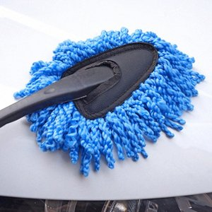 Teclado Universal Cleaning Car Escova Auto Janela Duster retrátil microfibra lavável Poeira Car Washer Computer Limpeza jHHR #