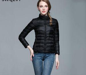 New Autumn Winter Slim Short Women Down Coat 2019 Plus Size Stand Collar Women Jacket Coat Ladies Female Bomber Jackets