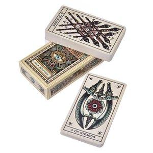 78 Kartlar Rehberlik Playing Game Kehanet Kurulu Aile Cards2020 Oyun Oracle Kart Güverte Dövme Fortune Kartlar Parti Tarot bbygJN wrhome