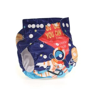 2020 August New digital printing positioning cloth pants diaper pocket waterproof and urine pants colour cloth diapers