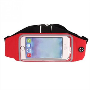Waist Bag Touching Waterproof Belt Pouch Mobile Phone Holder for Smartphones Morning Exercise Accessory 20