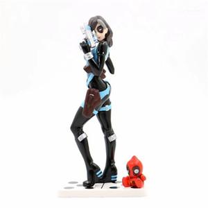 Kits Marvel Movies Deadpool Domino Garage Kits Designer Nymph Costume Accessories Toys Fashion Beautiful Girl Garage