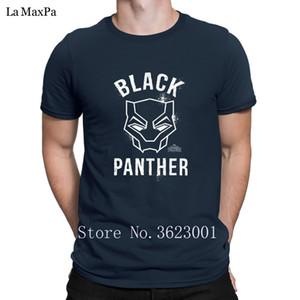 Entwerfen Sie beiläufige Mens Black Panther-Maske T-Shirt Unisex Männer Unique T Shirts für Männer O Ansatz Verrücktes