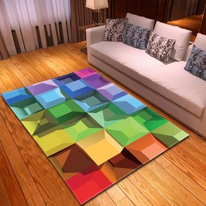 High-quality Retro Trend Soft Carpet 3D Pattern stereoscopic Antiskid Mat Welcome Home Doormat Delicate Carpets for Living Room