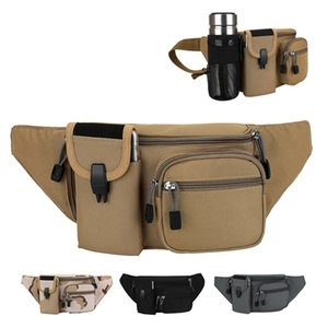 Casual Running Sports Waist Pack Body Hugging Mobile Phone Waist Bag Multi-functional Shoulder Small Chest Bag Riding Bottle Wai