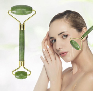 Facial Massage Roller Board Double Heads Jade Stone Face Lift Body Skin Relaxation Slimming Beauty Neck Thin Lift 0125