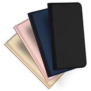 Flip Wallet Funda Kickstand Card Slots Pocket PU CUERDO CUBIERTE PIEL PRO CON STAND PARA IPHONE 12 PRO MAX 11 XS XR X 8 7 6 6S PLUS SE 2020