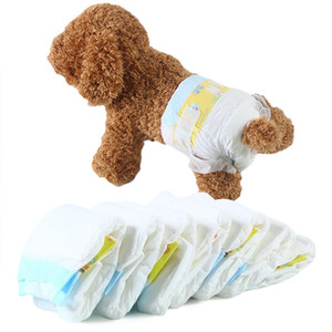 Pet Diapers Breathable Dog Diapers Physiological Pants for Puppy Comfy Menstrual Nappies Disposable Sanitary Pants Dog Shorts