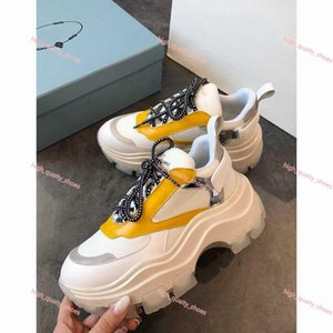 Prada shoes Xshfbcl идеальный рок Бегун камуфляж кожаные кроссовки обувь мужчины, женщины Lusso стиль рок шпильки открытый CAMUSTARS тренеры Повседневная обувь