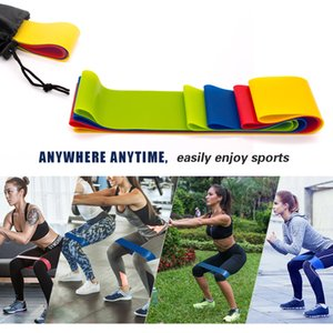 Resistance Bands 4 Levels Rubber Band Workout Fitness Gym Equipment Latex Yoga Strength Expander Training Athletic Elastic Band