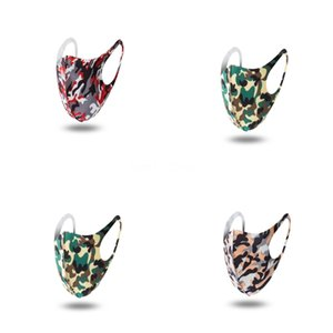 Fa Mout Vana Individl Pac E toz geçirmez Kirliliği Wasable Duman Maskesi # 307 Maske yazdır leopard