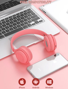 2020 Y08 Wirelesss Headphones Ins Macaron Bluetooth 5.0 headset with TF card Young student Gaming bluetooth headphones free shipping