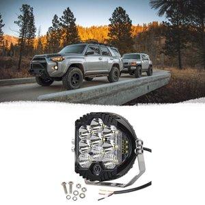 Передний бампер фара Die-Cast алюминиевого сплава 5-дюймовый круглый водить фара для Wrangler Suv Pickup Модификация 1 шт