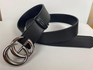 классические случайные деловые ремни высокого качества оптовой мужские ремни металлические пряжки кожаный ремень для женщин людей ширина ремня 3.8cm