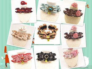 Pet Collars Cat and Dog Collars All kinds of lace pet supplies wholesale free shipping 0926-1-18
