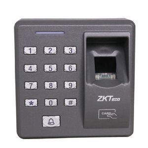 ZK x7 500 modelos capacidade inovadora leitor de impressão digital biométrico para aplicativos de controle de acesso com leitor de cartões e teclado