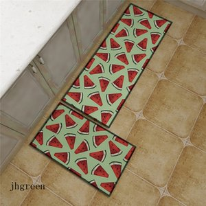 Summer Watermelon Printing Carpet Creativity Fruit Shops Decorate Carpets Accept Custom Designs And Sizes Free Shipping